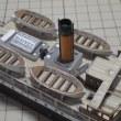HMV 1:250 Hafen-Dioramaハンブルク港ジオラマ ペーパークラフトを作る-その10