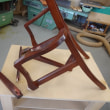 椅子の修理 1