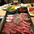 新年会は焼き肉で飲みました。