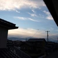秋っぽい朝の空