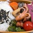 ちくわとこんにゃくと根菜の煮物弁当