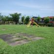 金沢市立花園小学校の遊具を設置しました。