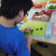 2017年8月22日(火)色とりどり、フルーツカット体験教室!(平沢団地こども広場)