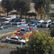 昭島市にて『駐車場封鎖』