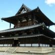 秋晴れの法隆寺