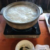 温泉の朝食