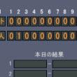 【試合結果】○巨人1-0ヤクルト