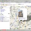 Google Mapで地図をメモるのがおもしろいです。