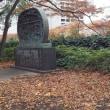 中之島緑道(淀屋橋北詰~肥後橋北詰)の彫刻 3 (大阪市北区)