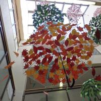 学校祭の校内作品展示