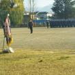 朝陽地区秋の消防団や奉仕団の訓練に参加しました。