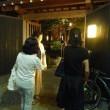 イタリアンでワインを飲み、七夕の神楽坂を散策 … 7月7日第15回山桜桃の会