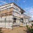 良い家を造って売りたい~わくわく進化!!プロジェクト『 一宮の小さな丘のLong Vacation House 』⌂Made in 外房の家。は、大工工事&外壁工事順調進行中!です。