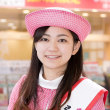 「弘前城ミス桜」東北観光キャンペーン in 品川駅