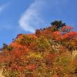 紅葉の瓶ヶ森(帰路)-4 雲と遊ぶ