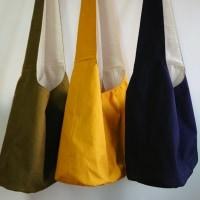 11号帆布の男女兼用斜め掛けショルダーバッグ