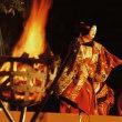 今年の出水神社薪能は「紅葉狩」