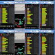 2018 04/22-04/23 気温急降下のなか スマホQZSS/GNSS受信快調: U-Que, Ublox, Raijin, Zenfone2 Intel 24時間モニタリング