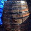 450リットル雨水タンク 焼酎樽のリサイクル #雨水利用 #雨水タンク
