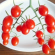 念願の 房採りミニトマト♪