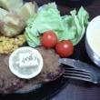 ハンバーグとステーキ