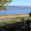 諏訪湖一周サイクリング