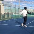■チャンスボール 12/15更新!チャンスボールを打つ前に意識すること①「ボールを打つ前に○○を上げる」 〜才能がない人でも上達できるテニスブログ〜