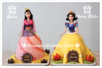 Princess Birthday Cake (Mulan & Snow White)