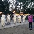大宮氷川神社 早朝初詣2019! 晴天、風もなく穏やかな天候に恵まれる