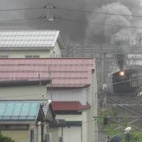 蒸気機関車SLこまち号試乗会 湯沢駅発20181011