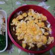 二色丼弁当と、昨日のお弁当。