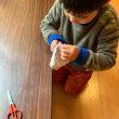 縫い指しの練習