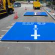 新設道路開通に伴って案内標識を設置しました。