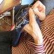 キロロの仲間の刺繍