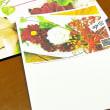アレンジメントのポストカード