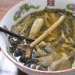 山菜ときのこたっぷりのラーメン