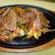 スタミナが付く「牛肉鉄板焼き」