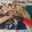 ワカサギ釣り情報:手繰り竿の制作・・・