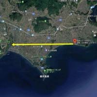 開聞岳を望む083 2018/09/20 指宿市 「砂湯里」