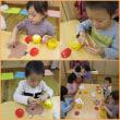 ✩★ひまわり組(3歳児)どんぐり遊び&お面作り★✩