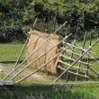 島根半島の稲掛けのハゼ組み