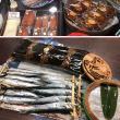 伊勢丹・魚谷清兵衛商店でイワシの目指し、ニシンの昆布巻き、小鯛の笹漬けを購入。
