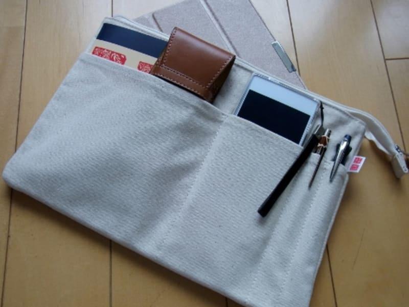 【鞄】 UNIQLOのバッグインバッグ(非売品)