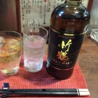 『竹鶴』キープ・・・4千円っ‼?Σ(・□・;)I got the Japanese whiskey !!
