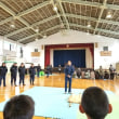 市民防災会 防災訓練 参加 (デイサービス 花いちご)2018