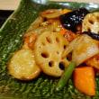 No.4044  鶏と野菜の黒酢あん
