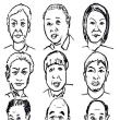 似顔絵クイズ52