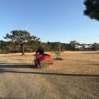 砂まき。~芝生にお布団を~
