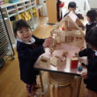 あお 3歳児 手洗い・グループ活動