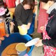 飽食の時代に、かつて日本のどこのご家庭にもあった自家製の味噌作りに家族でチャレンジ‼️山梨県のみそ工房の郷にて‼️